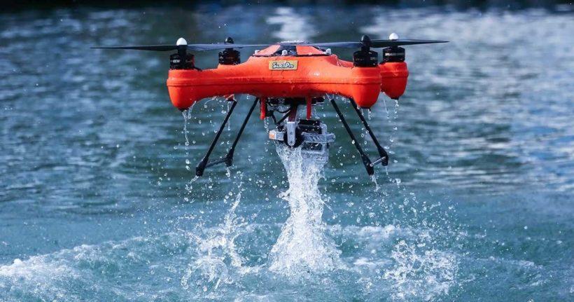 L'utilizzo dei droni ed il mare